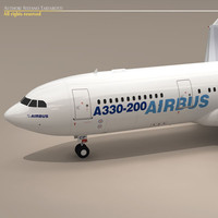 3d dxf airbus a300