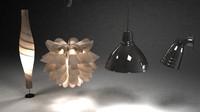ikea lamp light obj