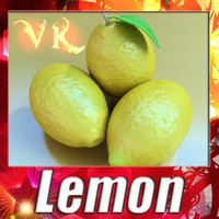 Lemon - High Detailed + High resolution textures