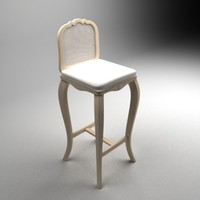 3dsmax balista bar chair