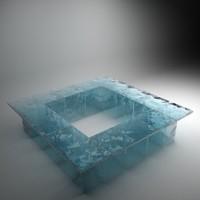bar ice 3d model