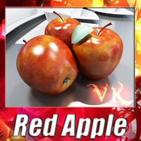 Red Apple High Detailed + High Resolution Textures