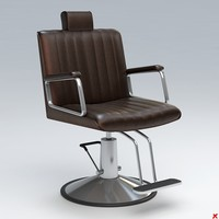 Chair barber014.rar