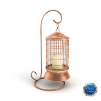 lantern lamp light 3d model