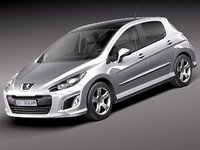 Peugeot 308 hatchback 5door 2012