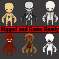 Horror Game Characters