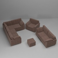 maya sofa armchair set