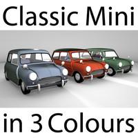 obj classic mini colours