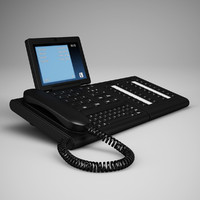 3d office desk telephone 21 model
