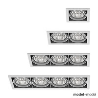 Delta Light Grid In spotlights collection