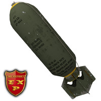usa wwii bomb 3d 3ds