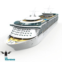 10ravens Freedom of the seas cruiser