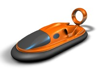 hovercraft - type dyson 3d model