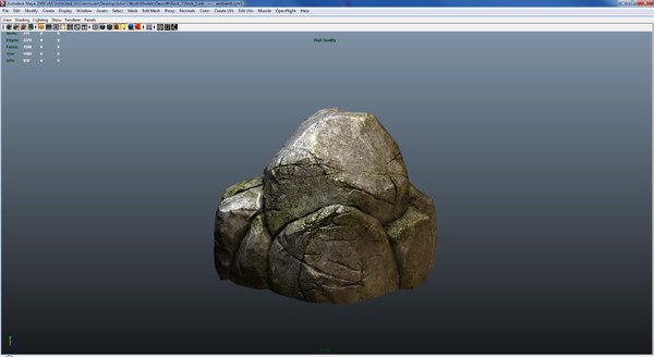 rock 3d obj - Next Gen Rock Game model... by Abdaoui
