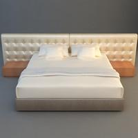 bed interior 3d max