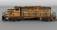 US Diesel locomotive