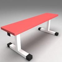 flat bench max