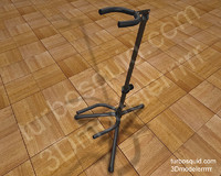 guitar stand c4d