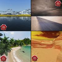 3ds landscapes v1