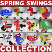 3d spring swings v4 model