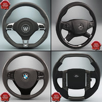 3d steering wheels model