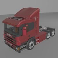 3d model scania p340