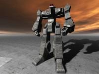 alfa robot 3d model