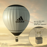 Balloon - hot air 01 (HIGH resolution)