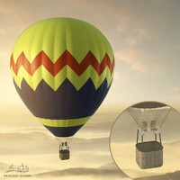 Balloon - hot air 05 (HIGH resolution)