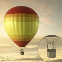Balloon - hot air 02 (HIGH resolution)