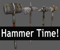hammer time 3d 3ds