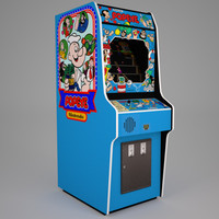 Popeye Arcade Low Poly