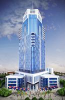 skyscraper floors building 3d 3ds
