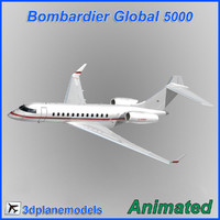 Bombardier Global 5000 Private livery 3