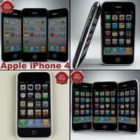 3d model apple iphones