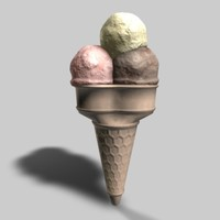 3d model of 11 ice cream 26