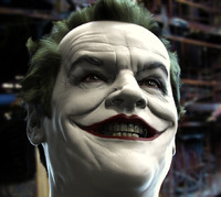 3d model joker jack nicholson