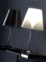 starck miss k table lamp 3d 3ds