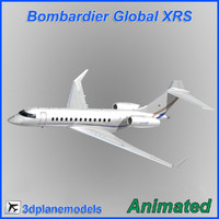 Bombardier Global XRS Private livery 3