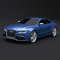 Audi RS 5 redesigned