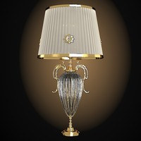 Masiero Emmepilight classic table lamp glass crystal