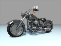 motocycle chopper 3d 3ds