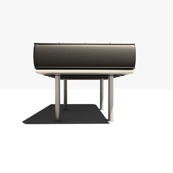Maya Contemporary Leather Bench