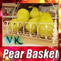 3dsmax fruit basket 08 pear