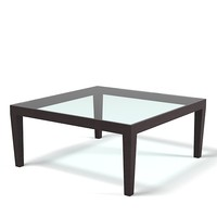 Porada Loch coffee glass table  modern contemporary