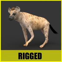 Hyena - Rigged