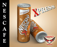 Nescafe xpress drink cans (original)