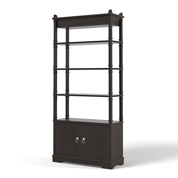 3d etagere cabinet art. Black Bedroom Furniture Sets. Home Design Ideas