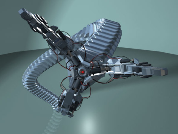 maya robot arm limited - - Robot Mechanic Arm Dr Octopus - Limited... by daniel4d