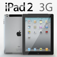 iPad 2 3G with Smart Cover Realistic